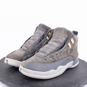 Jordan Retro 12 Dark Grey Wolf Grey mens Size 8.5